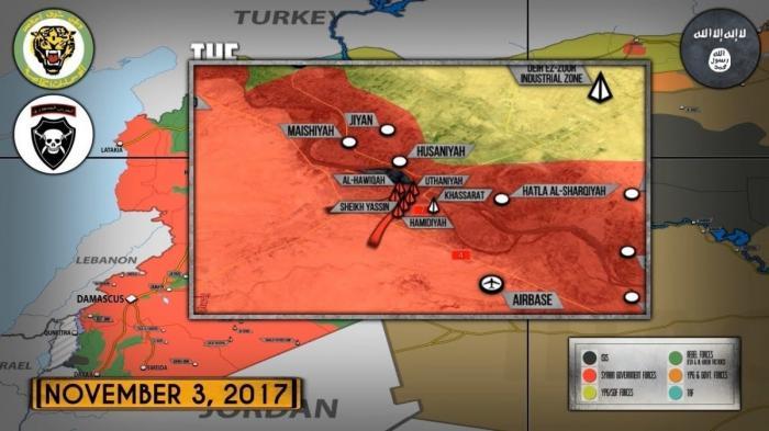 Сирия: освобождение города Дейр эз Зор