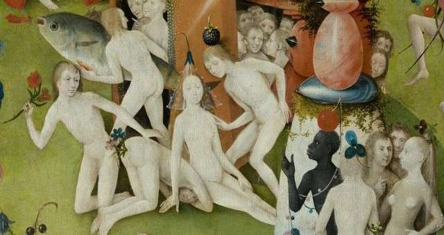 Иероним Босх. Триптих (фрагмент). 1610
