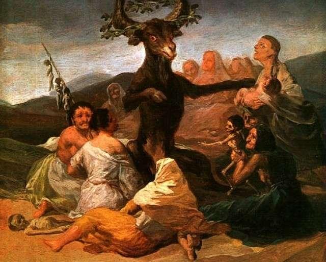 Франсиско Гойя. Шабаш ведьм. 1798