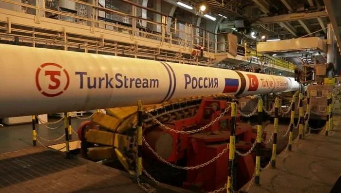 Строительство «Турецкого потока» на территории России завершено