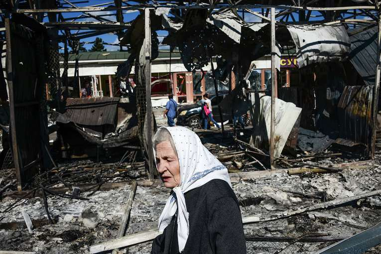 Путин: украинские военные бьют по жилым кварталам прямой наводкой