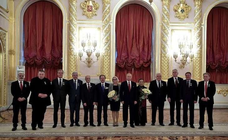 Награждённые государственными наградами Российской Федерации ипремией Президента Российской Федерации.