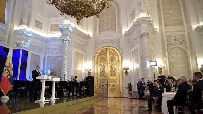 Приём в Кремле послучаю Дня народного единства России
