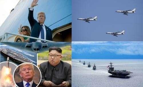 Китай отработал ядерный удар по американской военной базе Гуам. На этот раз учебный