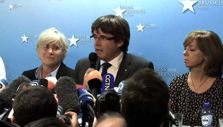Каталонский сепаратист ПучДемон вместе с подельниками сдался бельгийской полиции