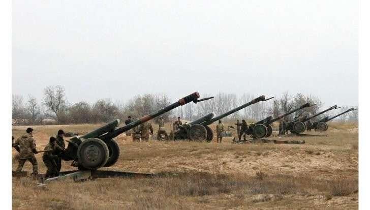 ДНР: Захарченко заявил об уничтожении двух артиллерийских батарей карателей ВСУ