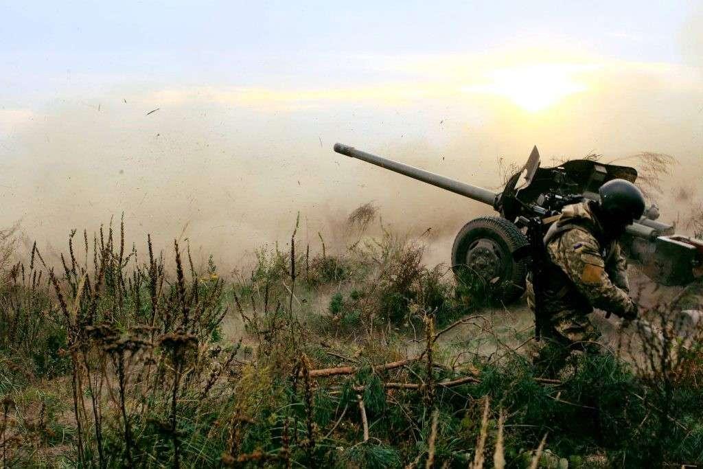 ДНР в ответ на агрессию карателей уничтожила две их батареи