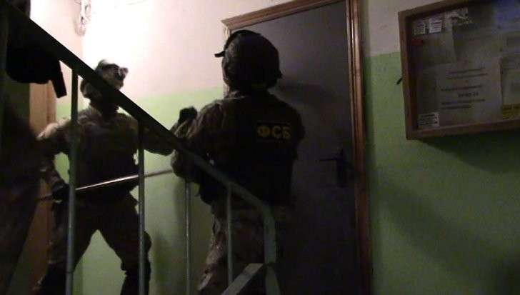 ФСБ опубликовала видео задержания экстремистов Мальцева