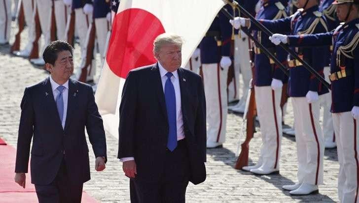Япония и Дональд Трамп: «Россия, помоги договориться с Пхеньяном»