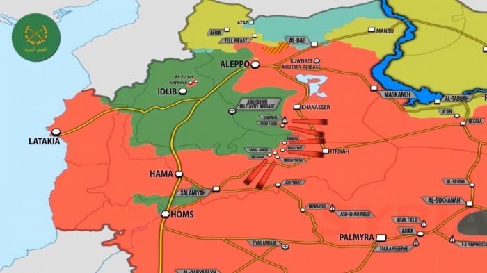 Сирия: бои правительственной армии против Аль Каиды на западе страны