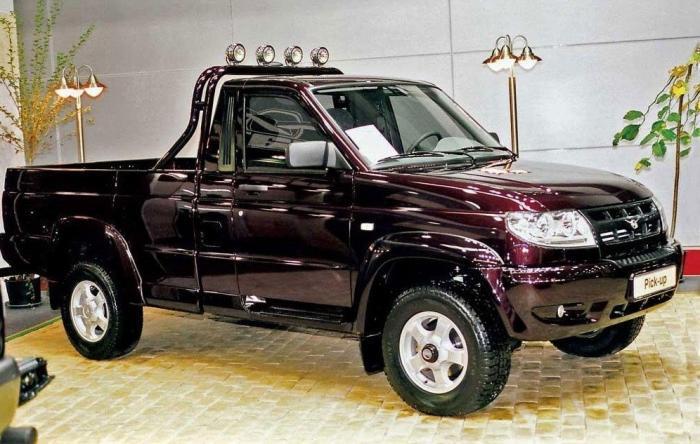 УАЗ выпустил новую комплектацию для автомобиля «Пикап»