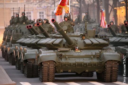 Россия на первом месте в мире по числу танков, БМП и РСЗО