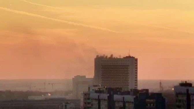Пожар в СВР России: погибли три человека
