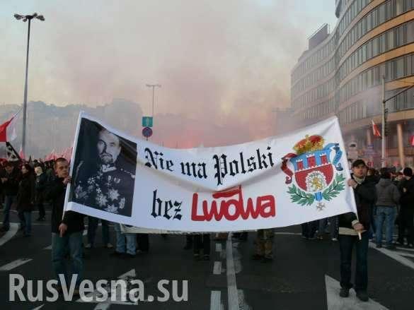 Польша начала гибридную войну против незалежной, наци-политик | Русская весна