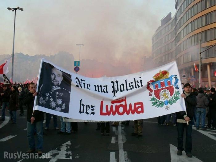 Польша начала гибридную войну против незалежной, наци-политик