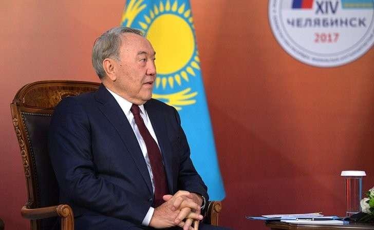 Президент Республики Казахстан Нурсултан Назарбаев.