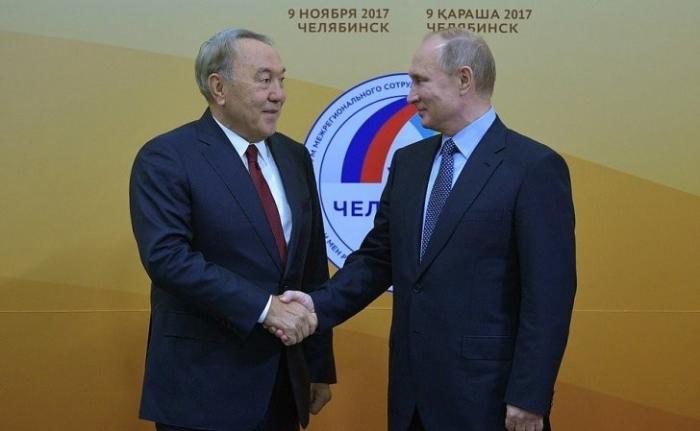В Челябинске состоялась встреча Владимира Путина с Нурсултаном Назарбаевым