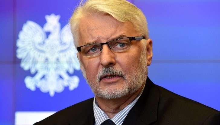 Глава МИД Польши Ващиковский: Украину ждут «реальные проблемы»
