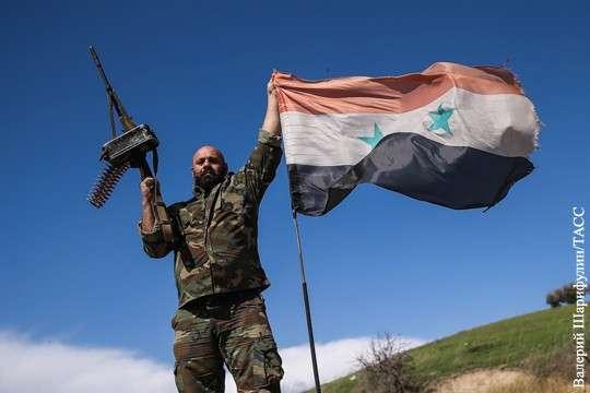 Американцы проиграли Башару Асаду свою стратегическую цель