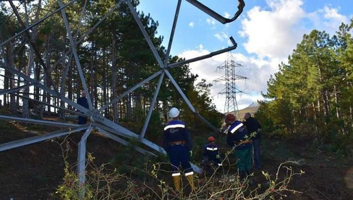 Крым. Диверсии на газопроводах и ЛЭП: власти посчитали нанесённый ущерб