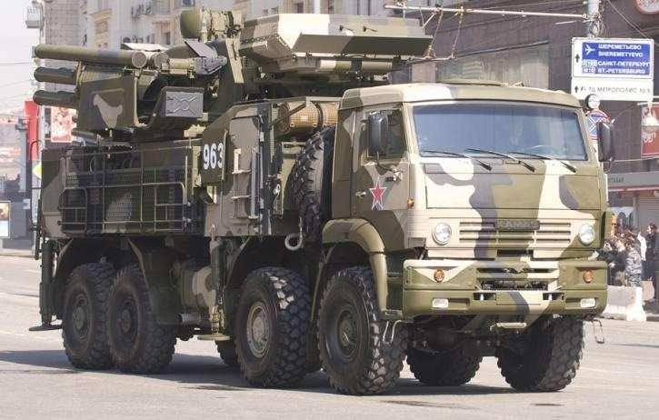 ВРоссии навооружение за5 лет поступили более 110 новых комплексов Панцирь-С