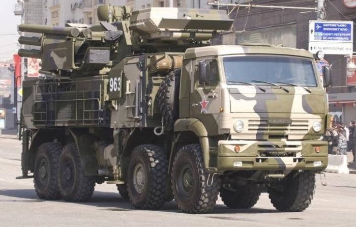 ВРоссии навооружение запять лет поступили более 110 новых ЗРК «Панцирь-С»