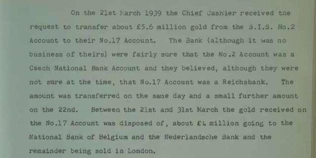 Банк Англии признался в помощи фашистам в торговле уворованным у России золотом
