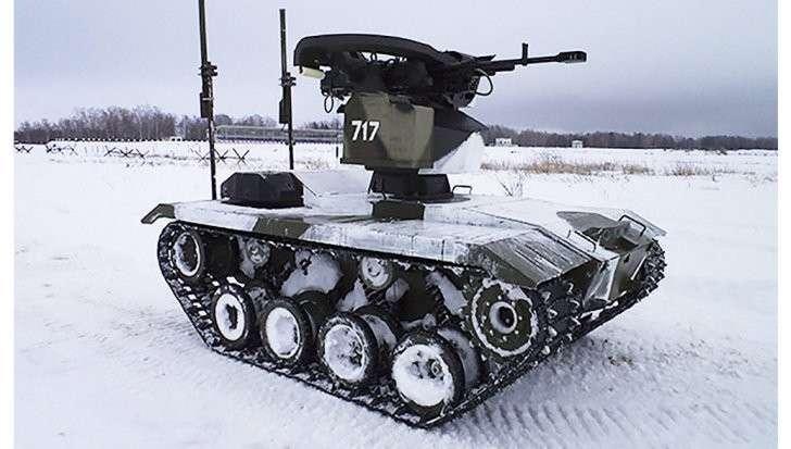 Западные СМИ оценили боевого робота из России: «русский медведь набирает силу»