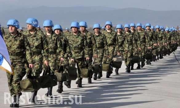 Что стоит за планом Вашингтона разместить 20 тысяч миротворцев в Донбассе? | Русская весна