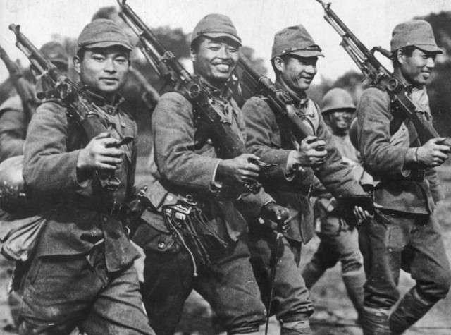 Японские солдаты Второй Мировой Войны