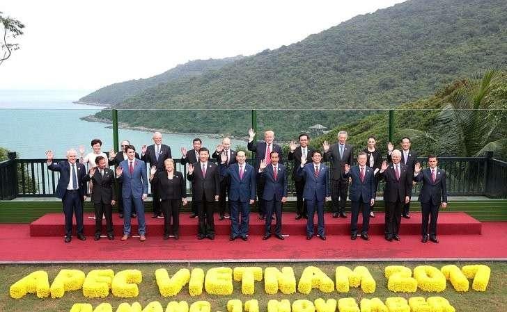Участники 25-го саммита форума «Азиатско-тихоокеанское экономическое сотрудничество».