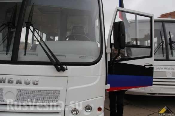 В Горловке впервые со времен СССР обновился парк автобусов | Русская весна