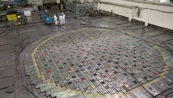 Ядерный реактор. Архивное фото