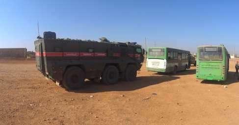 Сирия: под охраной русских «Тигров» сотнибоевиков сложили оружие