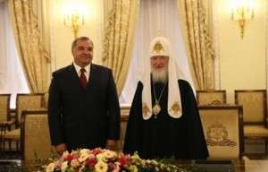 Владимир Пучков и Святейший Патриарх Московский и всея Руси Кирилл подписали Соглашение о сотрудничестве