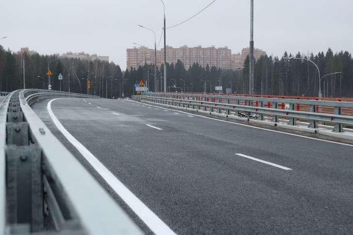 Рабочее движение поучастку ЦКАД вобход Звенигорода открыли вПодмосковье