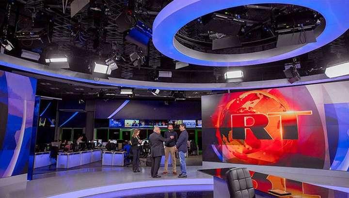 Russia Today зарегистрировался в США в качестве иностранного агента