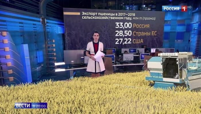 Россия впервые побила США и Евросоюз по урожаю пшеницы