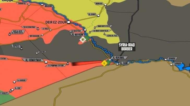 Сирия: наёмники США (ИГИЛ) контратакуют, угрозы Израиля Ирану