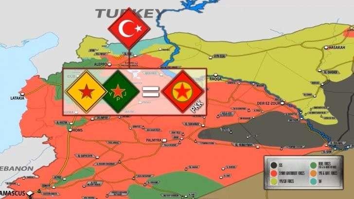 Сирия после разгрома ИГИЛ. Какие территории занимает каждая сторона?
