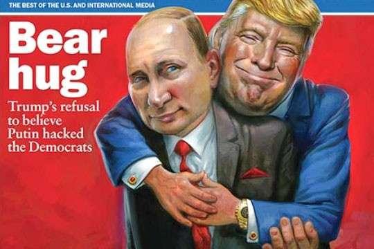 Дональд Трамп действительно делает то, что нужно Владимиру Путину