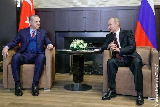 Турция выходит из-под глобалистов и НАТО, сближается с Россией
