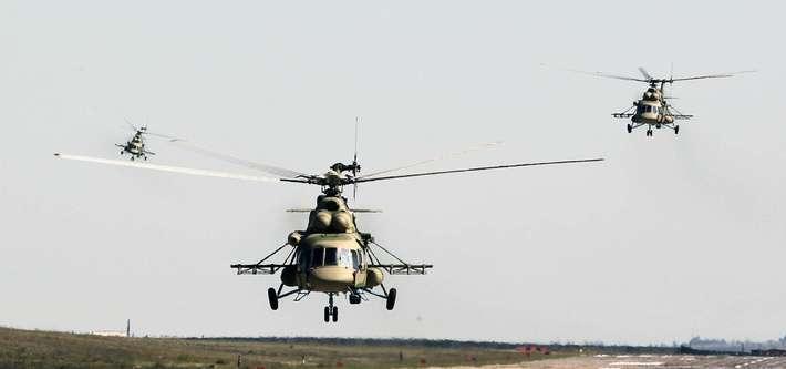 «Вертолёты России» передали партию модернизированных машин Ми-8АМТШ Минобороны