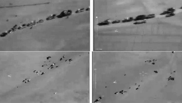 Министерство обороны России опубликовало доказательства сотрудничества США с ИГИЛ