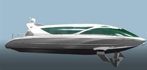 Российские суда на подводных крыльях LOOKER, новые корабли будущего