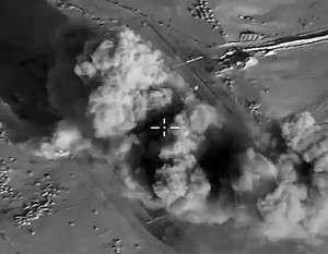 ВКС России нанесли удар по наёмникам США (ИГИЛ) под Абу-Камалем