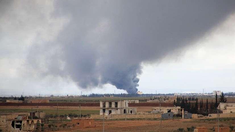 Сирия: шесть дальних бомбардировщиков Ту-22М3 нанесли удар по американским наёмникам