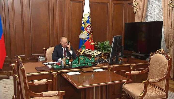 Владимир Путин посодействовал в обмене пленными между республиками и незалежной