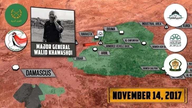 Сирия: бои под Дамаска, атака на абу Кемаль отбита