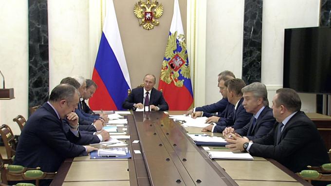 Владимир Путин провёл совещание повопросам развития судостроительного комплекса «Звезда»